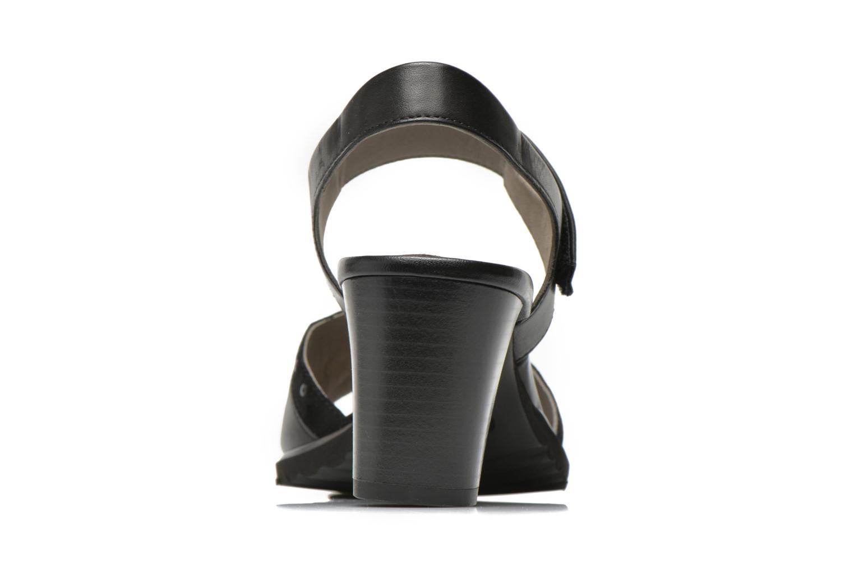 Sandales et nu-pieds Ara Gresa Noir vue droite