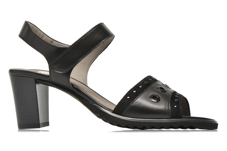 Sandales et nu-pieds Ara Gresa Noir vue derrière