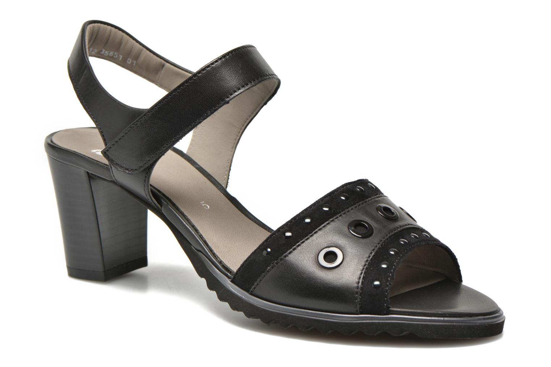 Sandales et nu-pieds Ara Gresa Noir vue détail/paire