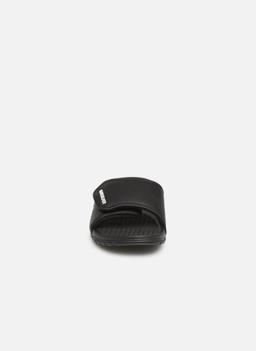 Sandalen Quiksilver Shoreline Adjust schwarz schuhe getragen