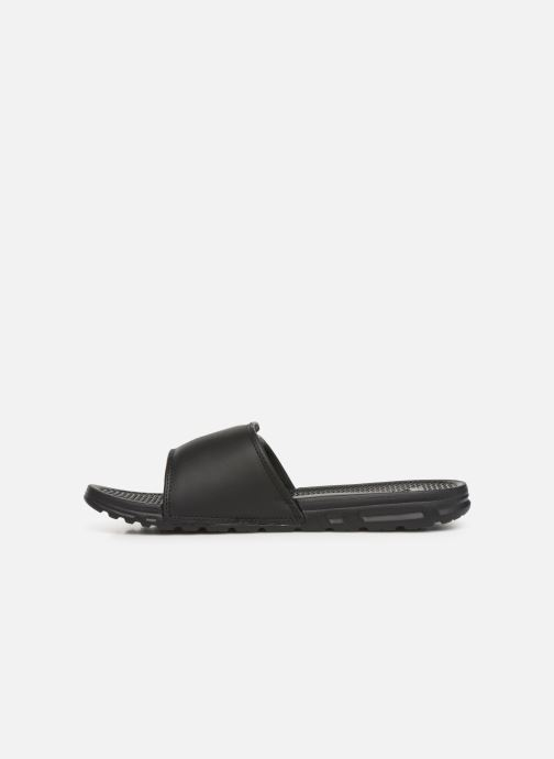 Sandales et nu-pieds Quiksilver Shoreline Adjust Noir vue face