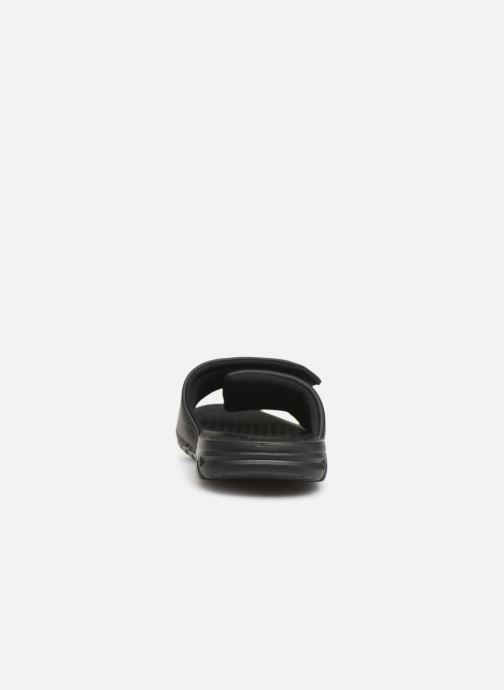 Sandals Quiksilver Shoreline Adjust Black view from the right