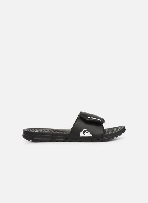 Sandales et nu-pieds Quiksilver Shoreline Adjust Noir vue derrière