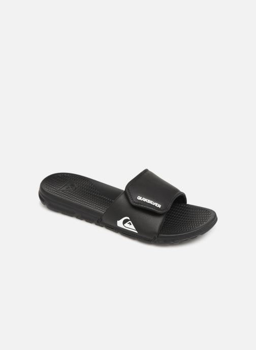 Sandales et nu-pieds Quiksilver Shoreline Adjust Noir vue détail/paire