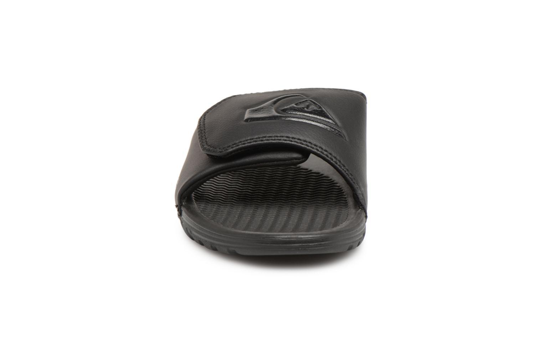 Sandali e scarpe aperte Quiksilver Shoreline Adjust Nero modello indossato