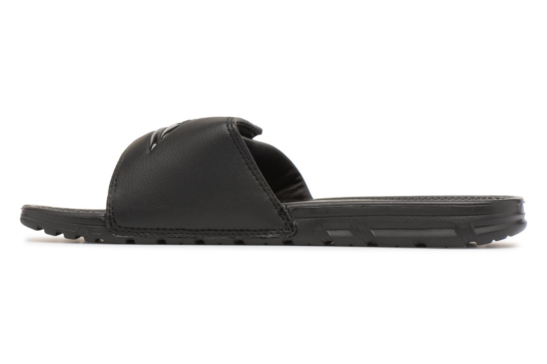 Sandali e scarpe aperte Quiksilver Shoreline Adjust Nero immagine frontale