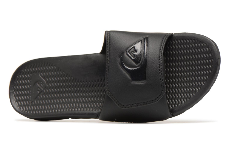 Sandali e scarpe aperte Quiksilver Shoreline Adjust Nero immagine sinistra