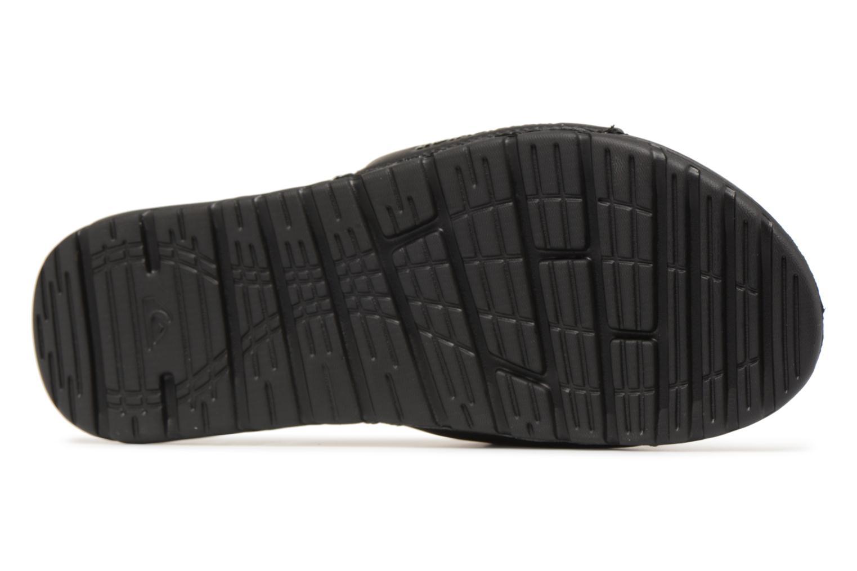Sandali e scarpe aperte Quiksilver Shoreline Adjust Nero immagine dall'alto