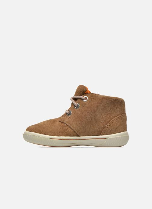 Chaussures à lacets Timberland Lace Chukka Marron vue face