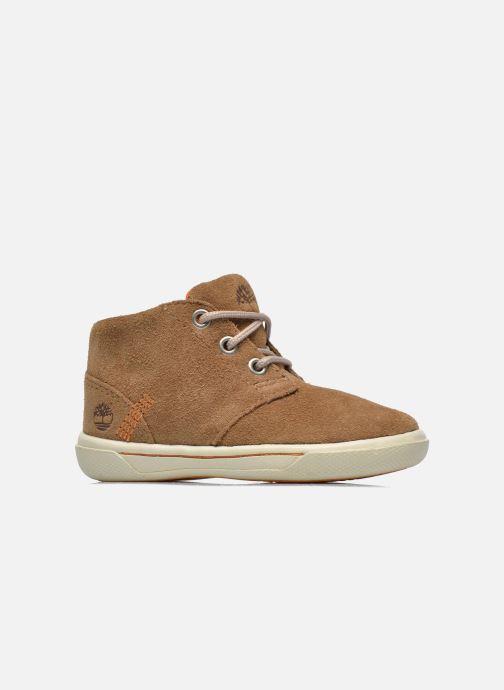 Chaussures à lacets Timberland Lace Chukka Marron vue derrière