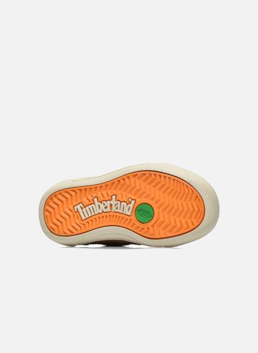 Chaussures à lacets Timberland Lace Chukka Marron vue haut
