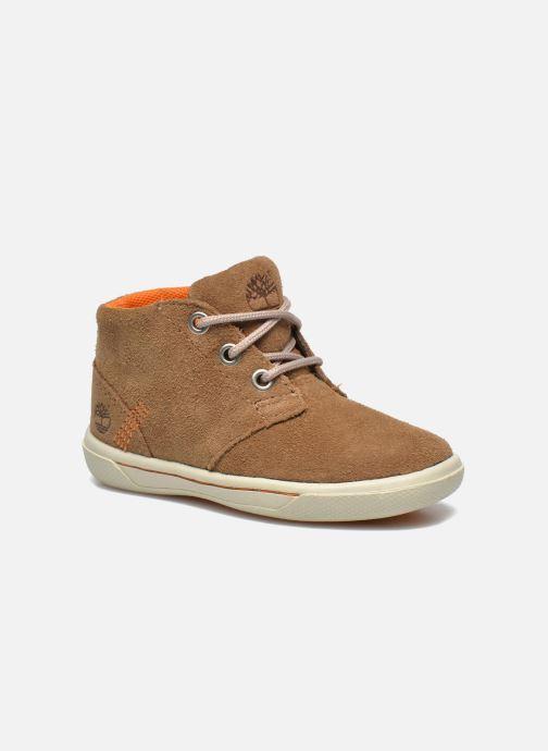 Chaussures à lacets Timberland Lace Chukka Marron vue détail/paire