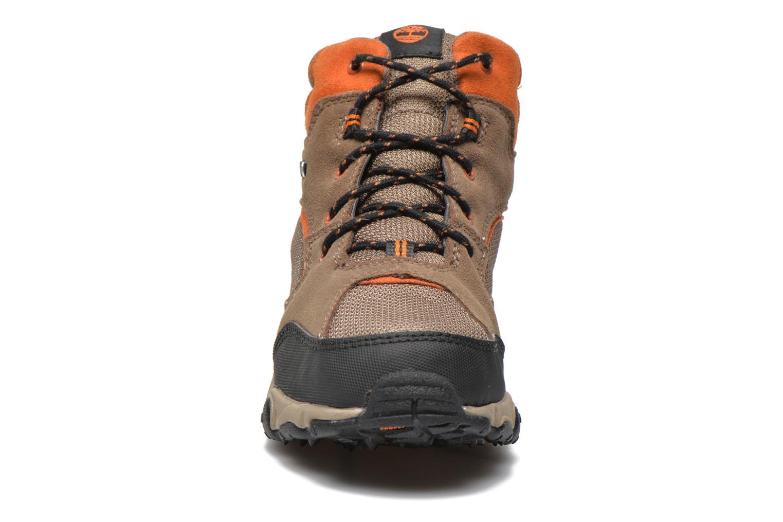 Stiefeletten & Boots Timberland Flume GTX Mid braun schuhe getragen