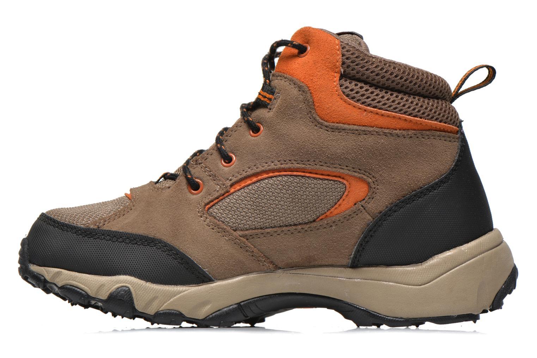 Stiefeletten & Boots Timberland Flume GTX Mid braun ansicht von vorne