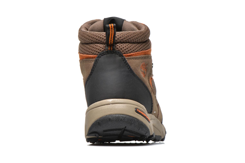 Stiefeletten & Boots Timberland Flume GTX Mid braun ansicht von rechts