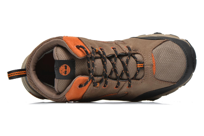 Stiefeletten & Boots Timberland Flume GTX Mid braun ansicht von links