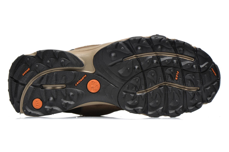 Stiefeletten & Boots Timberland Flume GTX Mid braun ansicht von oben