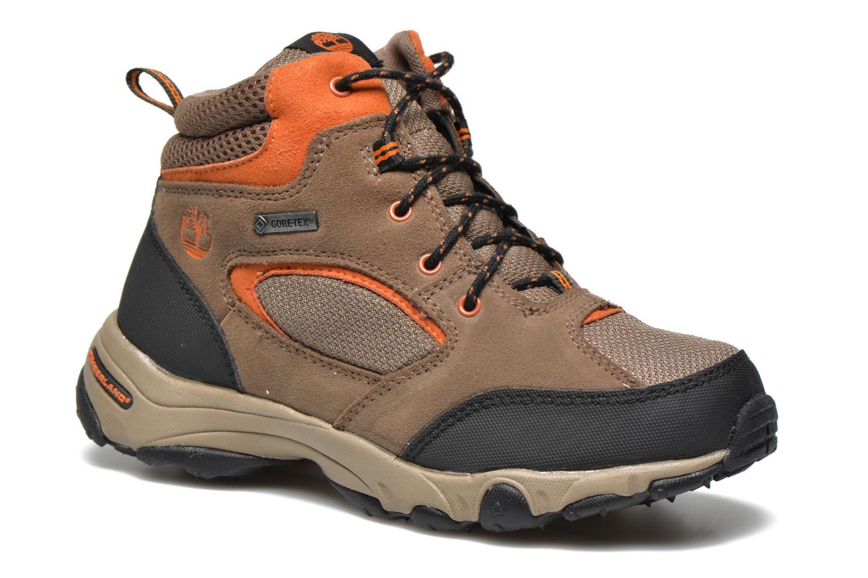 Stiefeletten & Boots Timberland Flume GTX Mid braun detaillierte ansicht/modell