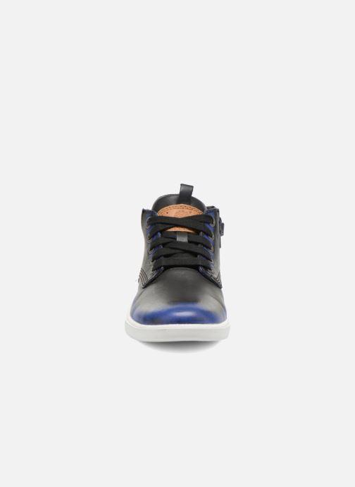 Bottines et boots Timberland Groveton Leather Chu Bleu vue portées chaussures
