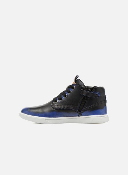 Stiefeletten & Boots Timberland Groveton Leather Chu blau ansicht von vorne