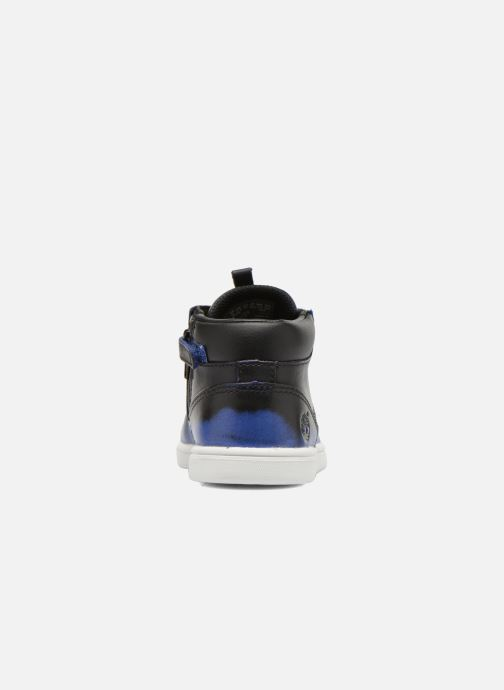 Bottines et boots Timberland Groveton Leather Chu Bleu vue droite