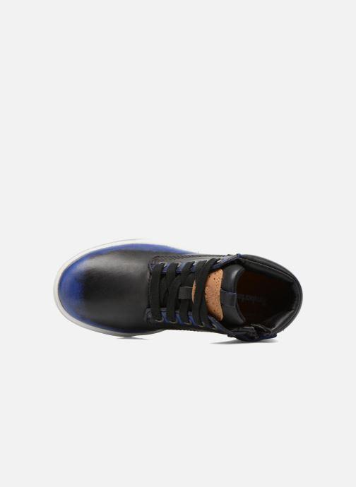 Botines  Timberland Groveton Leather Chu Azul vista lateral izquierda
