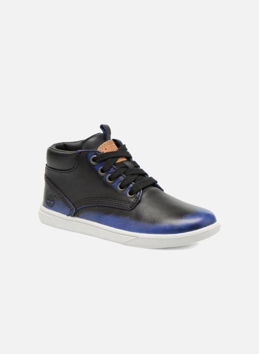 Ankelstøvler Timberland Groveton Leather Chu Blå detaljeret billede af skoene