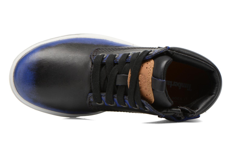 Bottines et boots Timberland Groveton Leather Chu Bleu vue gauche