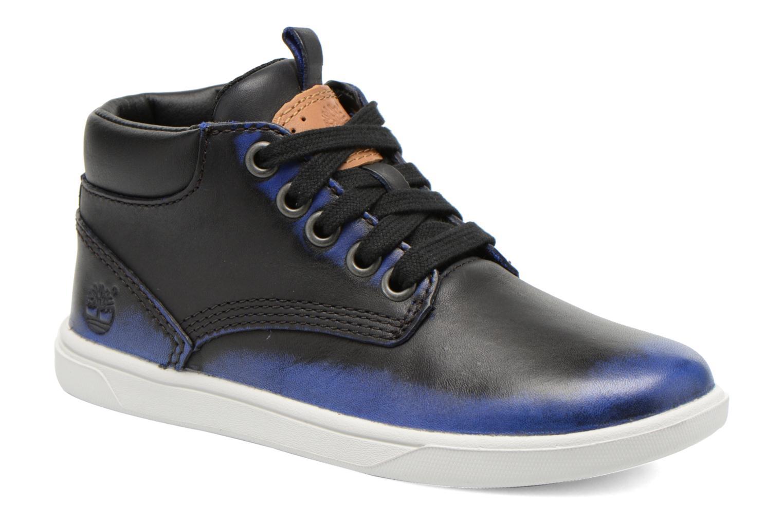 Bottines et boots Timberland Groveton Leather Chu Bleu vue détail/paire