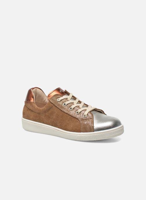 Sneakers Minibel Klasic Bruin detail