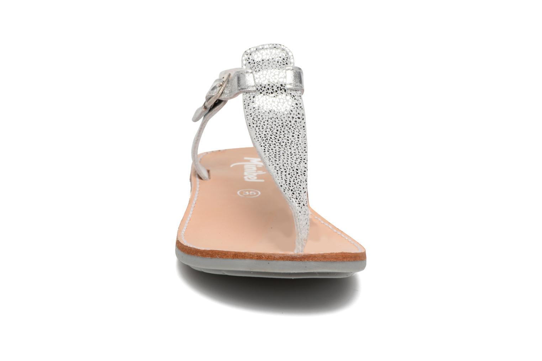 Sandali e scarpe aperte Minibel Klarice Argento modello indossato