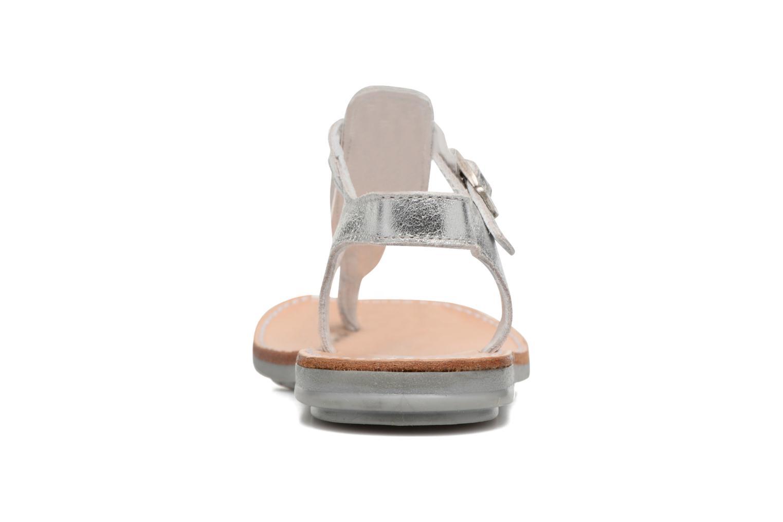 Sandali e scarpe aperte Minibel Klarice Argento immagine destra