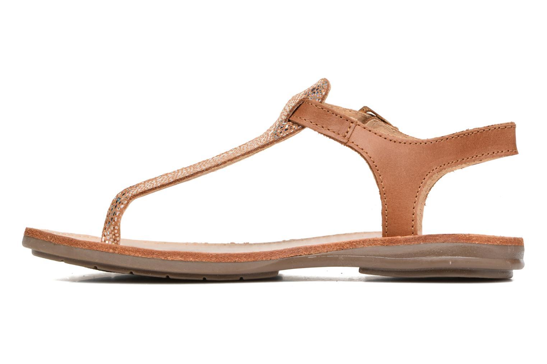 Sandali e scarpe aperte Minibel Klarice Marrone immagine frontale
