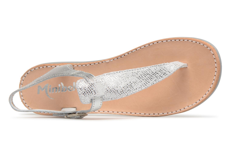 Sandali e scarpe aperte Minibel Klarice Argento immagine sinistra