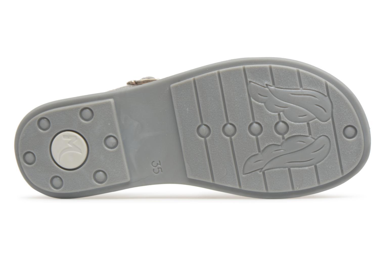 Sandali e scarpe aperte Minibel Klarice Argento immagine dall'alto