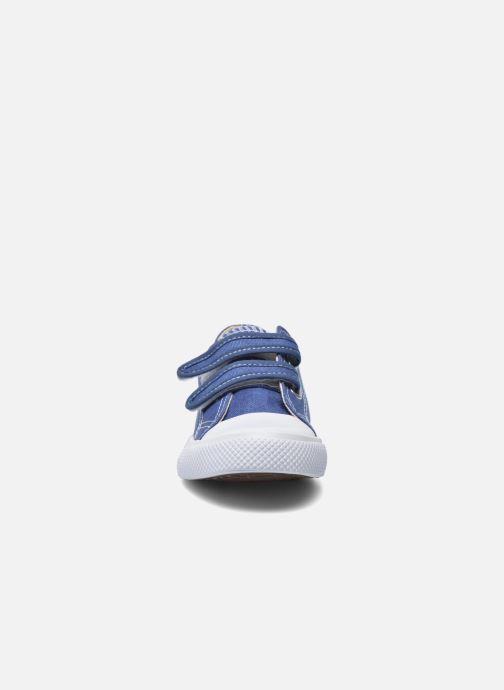 Baskets Minibel Estival Bleu vue portées chaussures