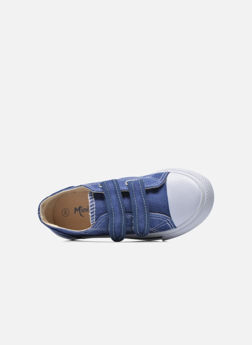 Baskets Minibel Estival Bleu vue gauche