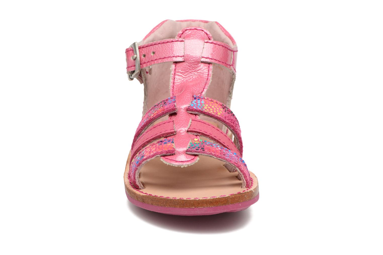 Sandali e scarpe aperte Minibel Keglae Rosa modello indossato