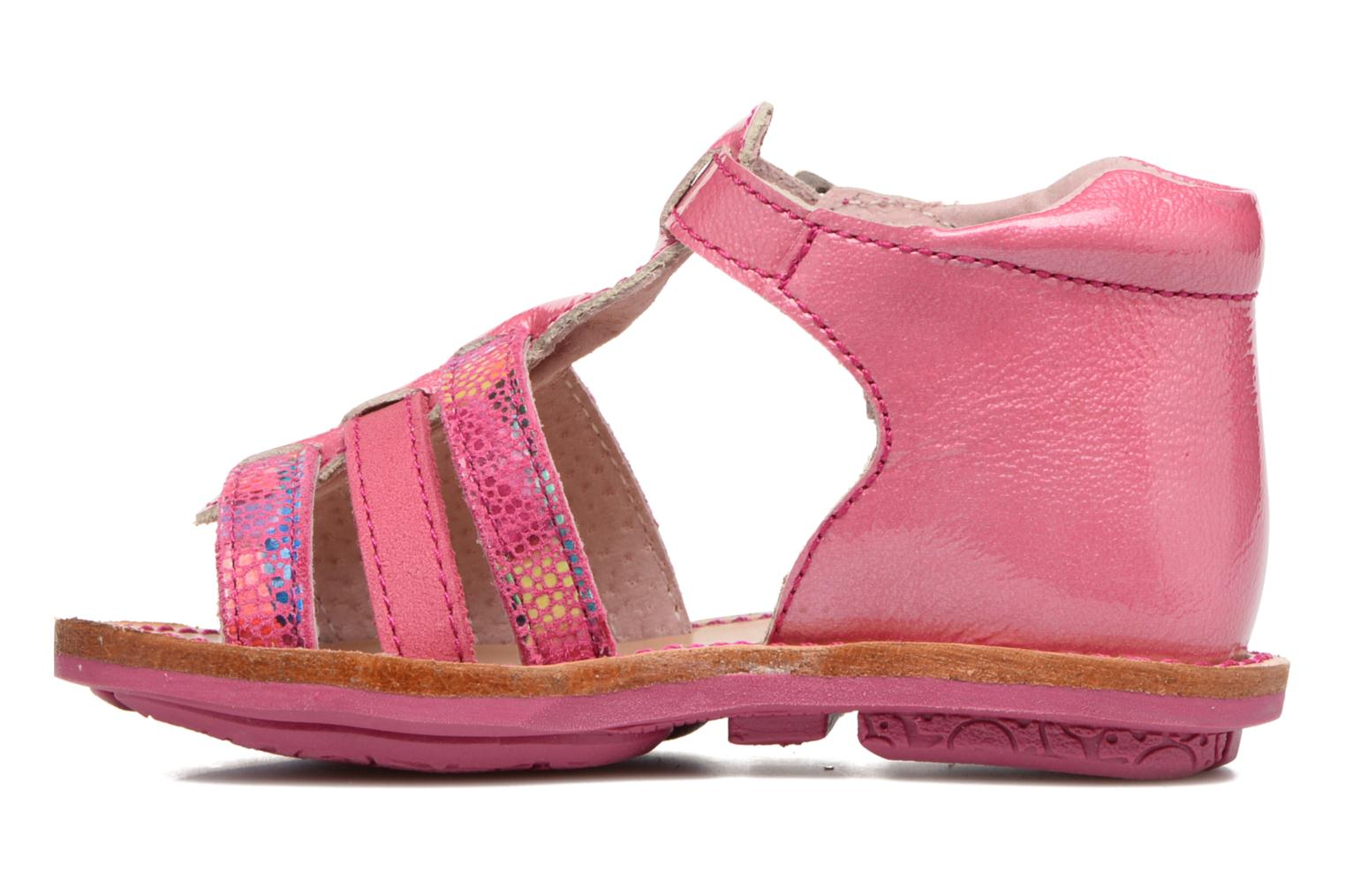 Sandals Minibel Keglae Pink front view