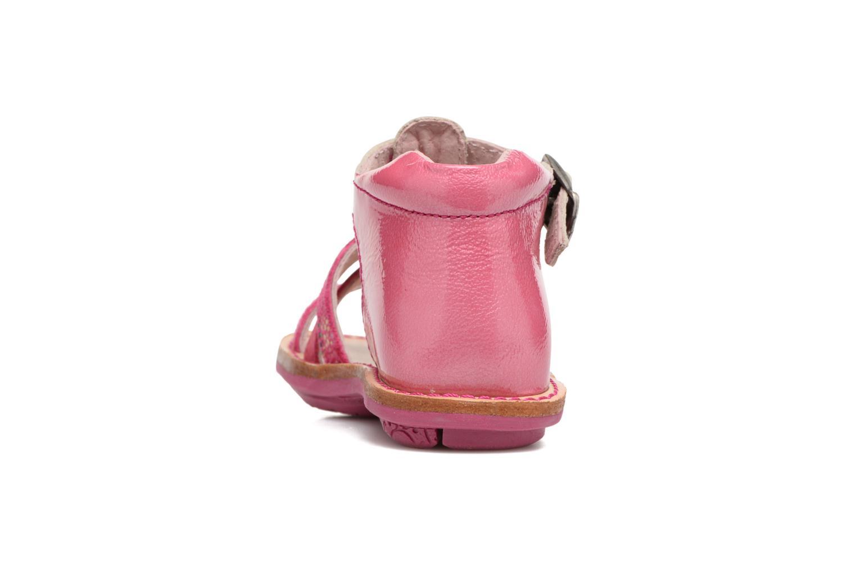 Sandali e scarpe aperte Minibel Keglae Rosa immagine destra