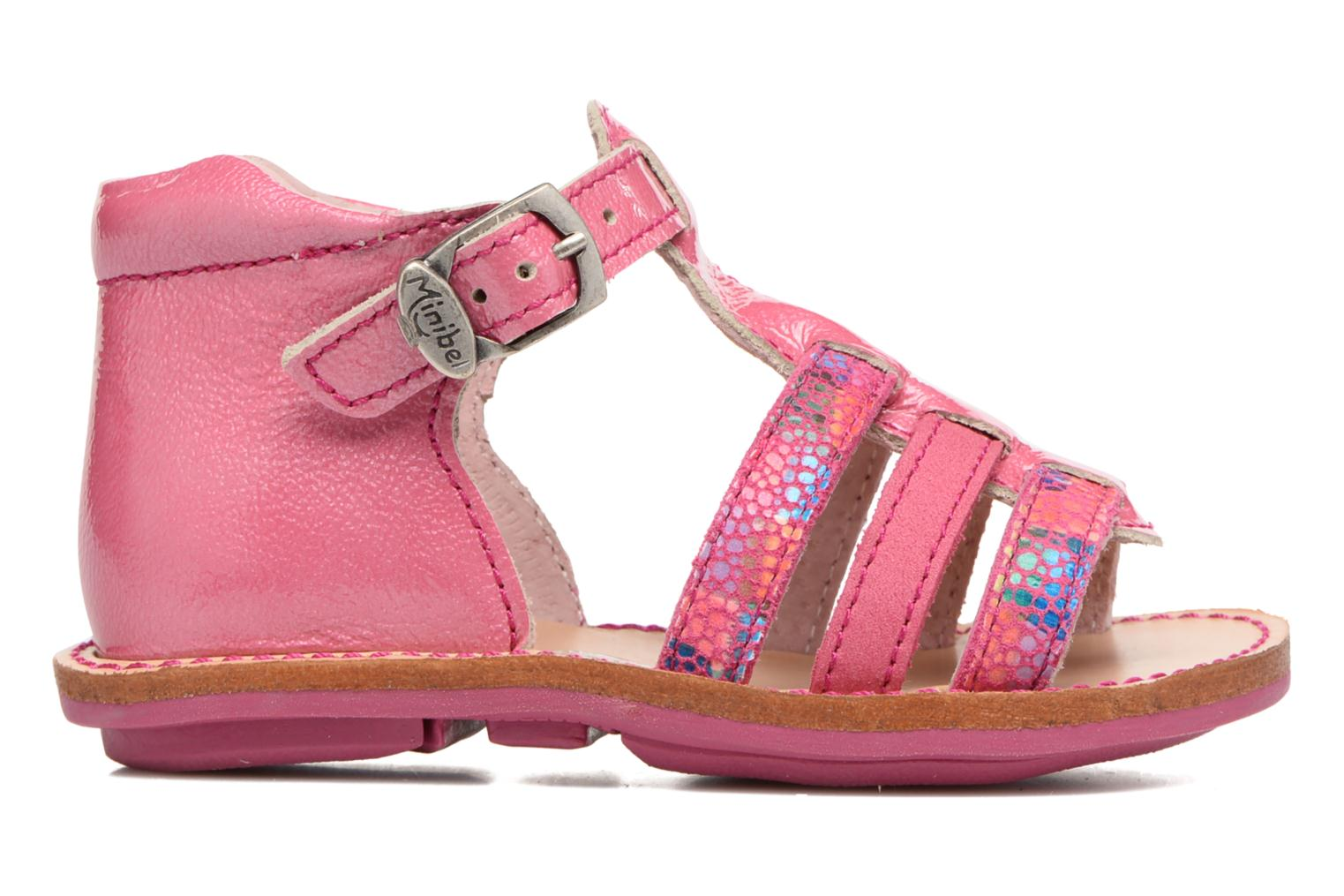 Sandals Minibel Keglae Pink back view