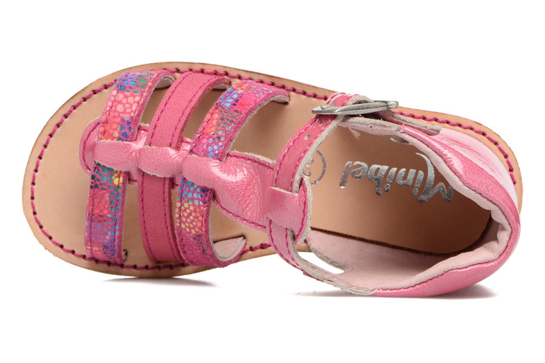 Sandali e scarpe aperte Minibel Keglae Rosa immagine sinistra