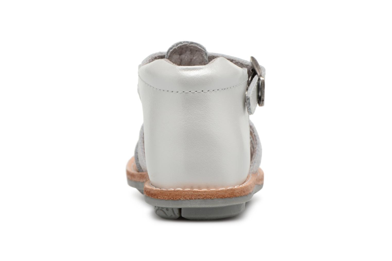 Sandali e scarpe aperte Minibel Keglae Argento immagine destra