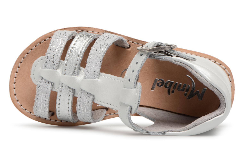 Sandali e scarpe aperte Minibel Keglae Argento immagine sinistra