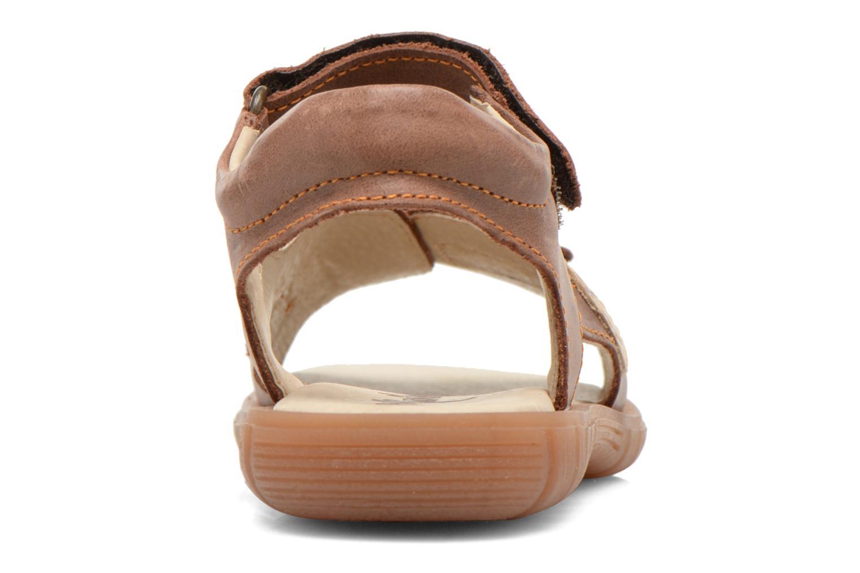 Sandali e scarpe aperte Minibel Kilian Marrone immagine destra