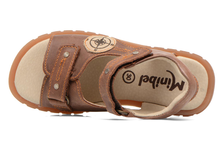 Sandali e scarpe aperte Minibel Kilian Marrone immagine sinistra