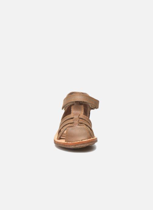 Sandals Minibel Keou Brown model view