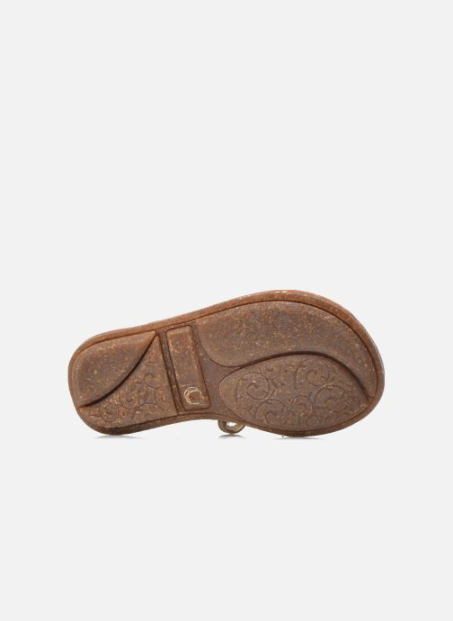 Sandals Minibel Keou Brown view from above