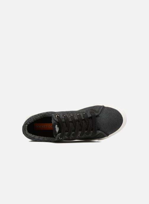 Sneaker Rocket Dog Campo schwarz ansicht von links