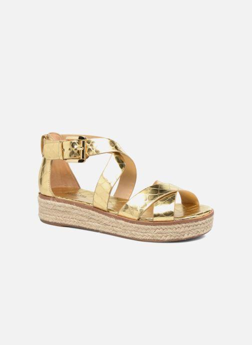 a25546e2c94 Sandales et nu-pieds Michael Michael Kors Darby Sandal Or et bronze vue  détail